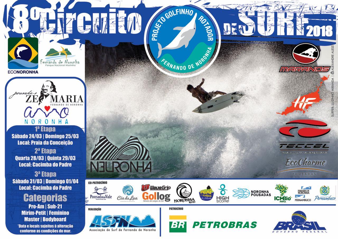 8º Circuito Projeto Golfinho Rotador de Surf